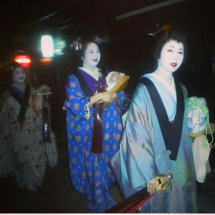 Geisha spotting!