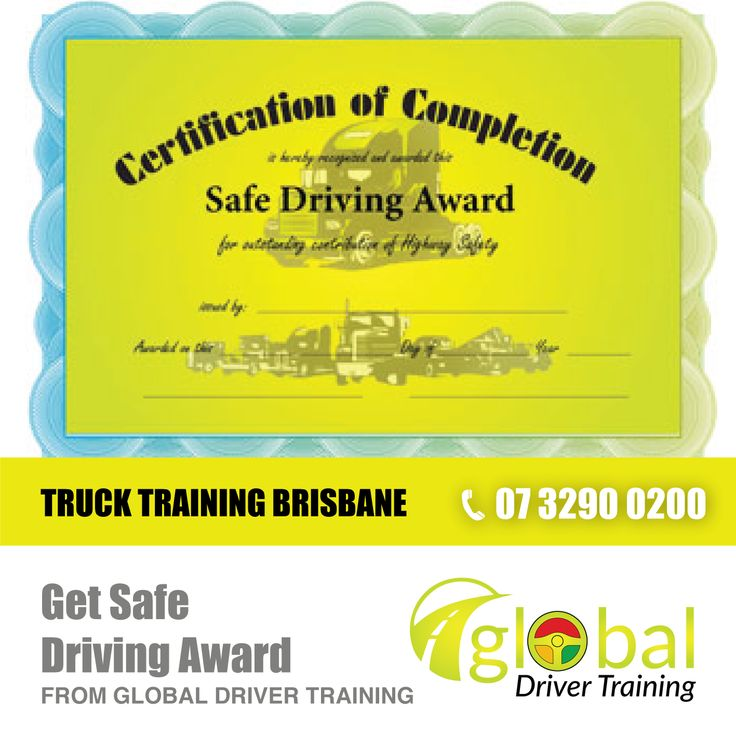 Get Safe Driving Award! We currently offer Certificate II in Driving Operations & Certificate III in Driving Operations. We do Basic Fatigue management (BFM) and Advanced Fatigue management (AFM). #DrivingSchool #TruckTraining