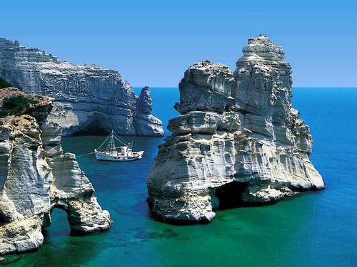 milos, isla griegas