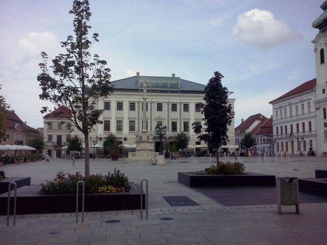 Győr centrum