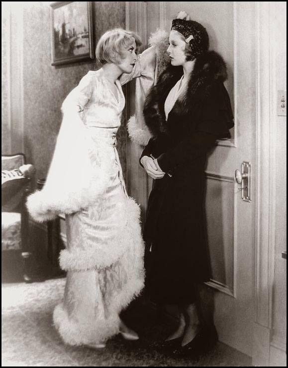 Joan Blondell & Loretta Young -Big Business Girl(1931)