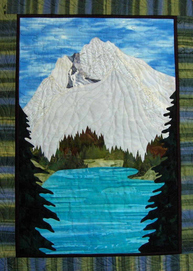 73 best Mountain Quilt ideas images on Pinterest   Mountain ... : mountain quilts - Adamdwight.com