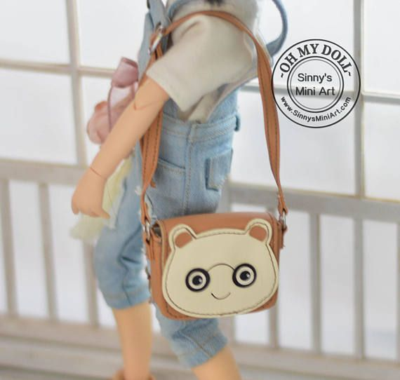 Bear Purse for Blythe/ Pullip/ Azone/ Licca C31