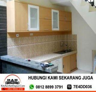 JASA PEMBUATAN KITCHEN SET BOGOR: Kitchen Set Bogor Murah