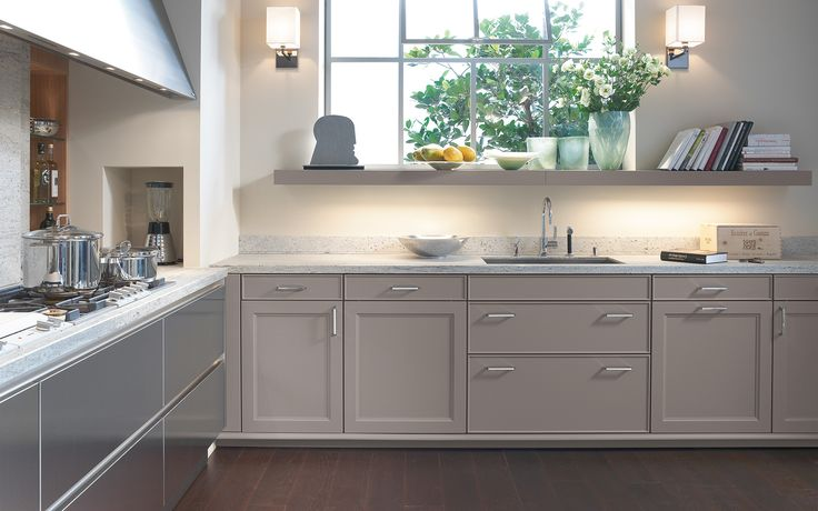 Classic kitchen with handles: BeauxArts   siematic.com
