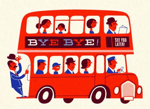 LONDON / red bus
