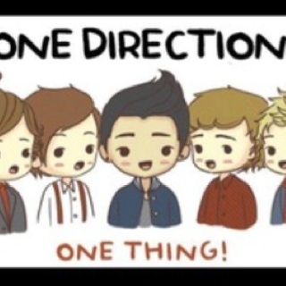 One direction cartoon one-direction