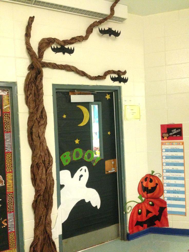 Halloween Classroom Goodie Bags Halloween Classroom Decorations Halloween Classroom Door Decor Halloween Classroom
