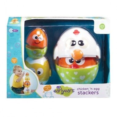 Chicken & Egg Stacking Cups