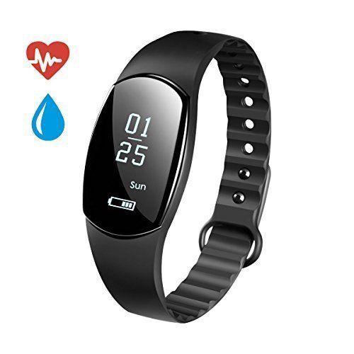 Smart Watch Fitness Tracker Wristband Heart Rate Pedometer Monitor IPhone Gift  #ALODUKI