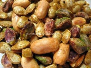 #semi di #zucca tostati con #pistacchi  Scopri tutte le #ricette: http://www.glutenfreetravelandliving.it/gffd-ricette/