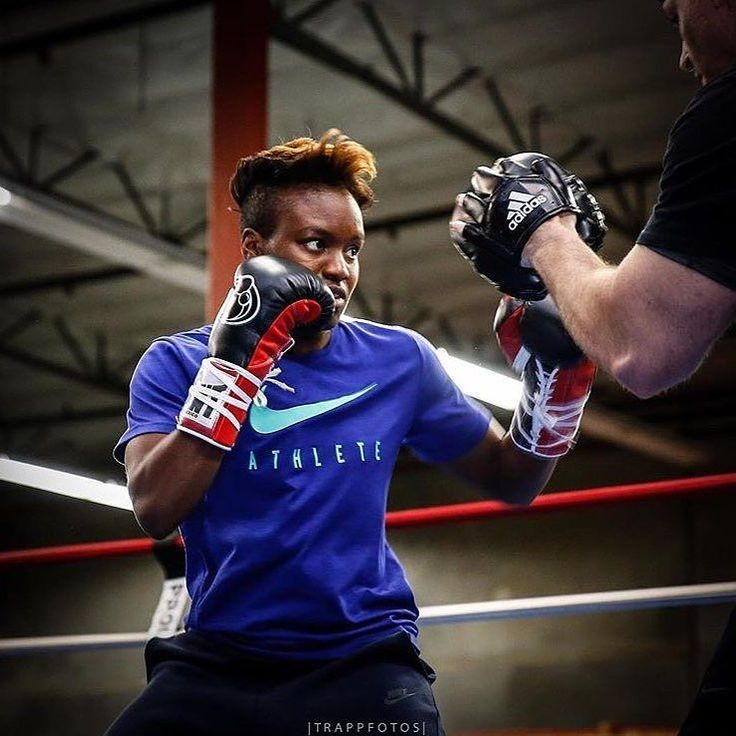 2 x British Olympian 'The Lioness' Nicola Adams OBE (2-0) @nicolaadamsobe makes her American debut on the huge Canelo GGG undercard against Hungary's Alexandra Vlajk. : Stephanie Trapp @trappfotos #boxing #boxeo #womensboxing #boxingnews #boxingheads #boxinglife #caneloggg #canelo #ggg #frontproof #frontproofmedia
