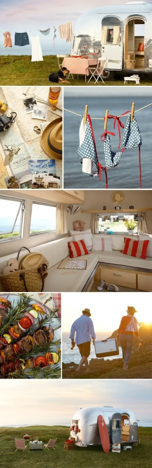 the cutest holiday ever.: Airstream Campers, Dreams, Road Trips, Camps, Beach, Roads Trips, Air Stream, Airstream Trailers, Vintage Campers