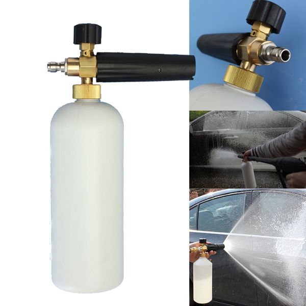 Adjustable Snow Foam Lance Washer Soap 1L Bottle Car Wash Sprayer