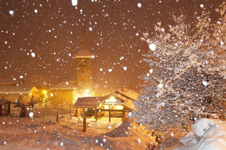 Snowy st martin de belleville - copy right G.Lansard