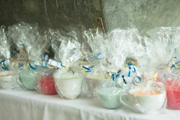 Tea Cup Candle Wedding Favors All Handmade So This Is Love Pinterest