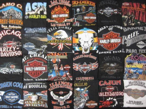 ◆Harley-Davidson★ハーレー両面プリントTシャツ24枚セット★XL  ◆Harley-Davidson★ハーレー両面プリントTシャツ24枚セット★XL