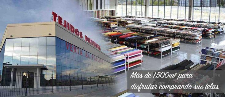 Tiendas de telas Tejidos Paredes en Madrid - Tejidos Paredes