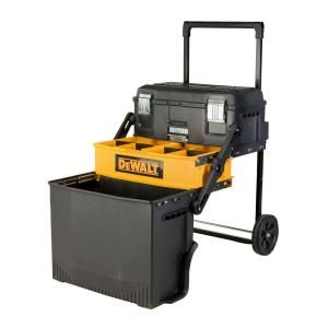 DEWALT 20 in. 88 lbs. Rolling Cantilever Tool Box, Black DWST20880 at The Home Depot - Mobile