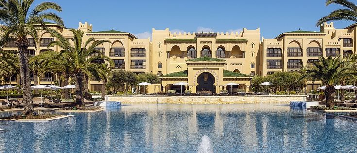 The Mazagan Beach Resort is a luxury 5 star destination in Morocco. Only an hour from Casablanca and just minutes from the historical town of El Jadida, this deluxe retreat is close enough to experience some of Morocco's beautiful cities, but distanced enough to fully relax amidst the tranquillity
