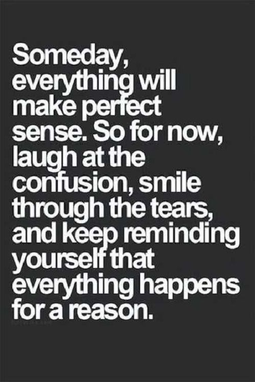 Coming true in my life the past one to two years...and into tomorrow. ..and next year. :)