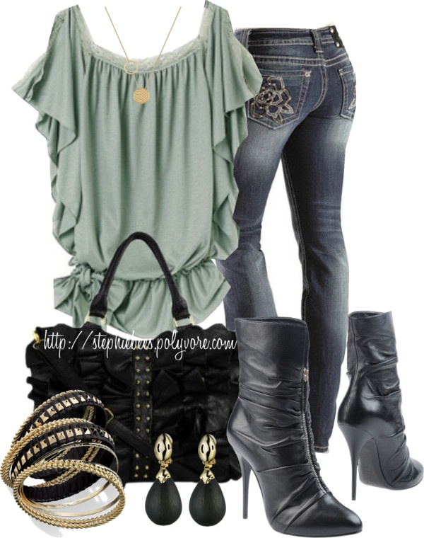 """""""Ruffles"""" by stephiebees on Polyvore"""