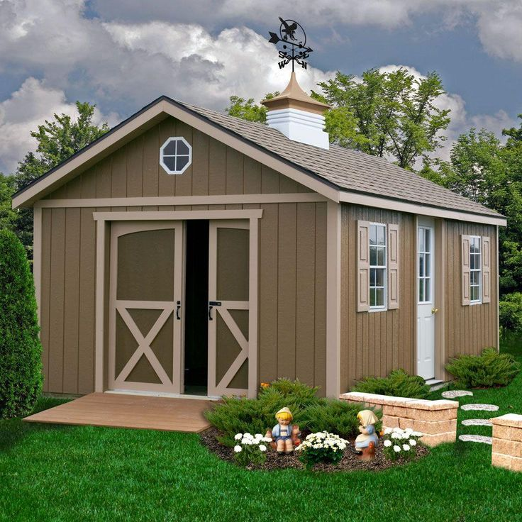 60 best images about sheds on pinterest wood storage for Backyard house kits