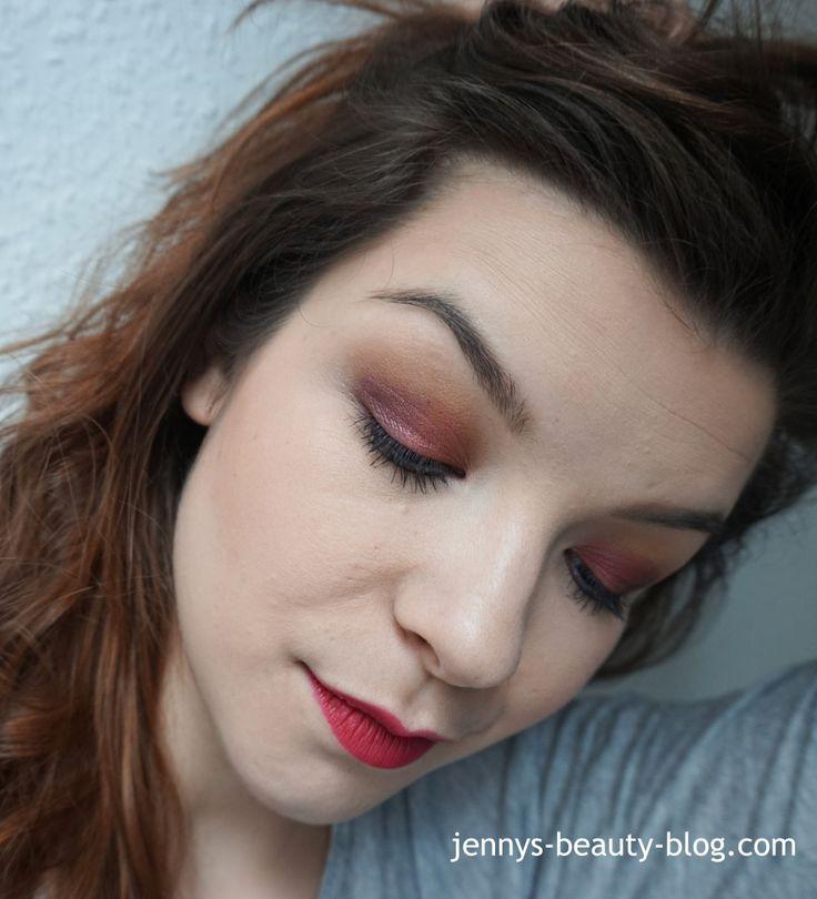 Make-up-Looks | Jennys Blog l Roter Lidschatten