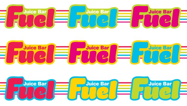 Fuel Juice Bars - logo development