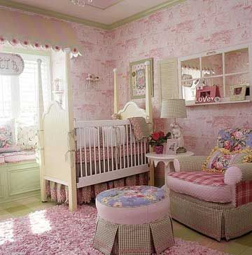 Pretty Pink Baby Nursery ideas