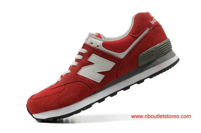 New Balance ML574UA Olympic Five Rings Red White For Women $69.00
