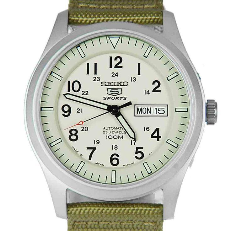 Chronograph-Divers.com - Seiko 5 Sports Automatic Military Watch SNZG07J1 SNZG07, S$119.22 (http://www.chronograph-divers.com/seiko-5-sports-snzg07j1)