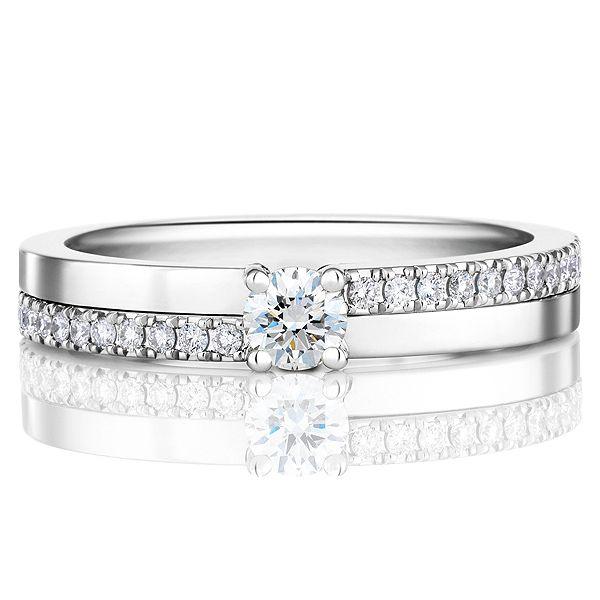 ザ・プロミス 18 - DE BEERS(デビアス)の結婚指輪(マリッジリング) 結婚指輪は一粒ダイヤに♡マリッジリングの参考一覧♡