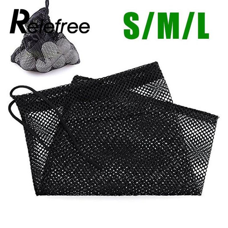Relefree Sports Mesh Net Bag Golf Tennis 12/25/50 Balls Carrying Holder Drawstring Pouch //Price: $1.99 & FREE Shipping //     #hashtag3
