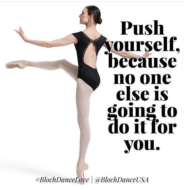 Unless you have a ballet teacher