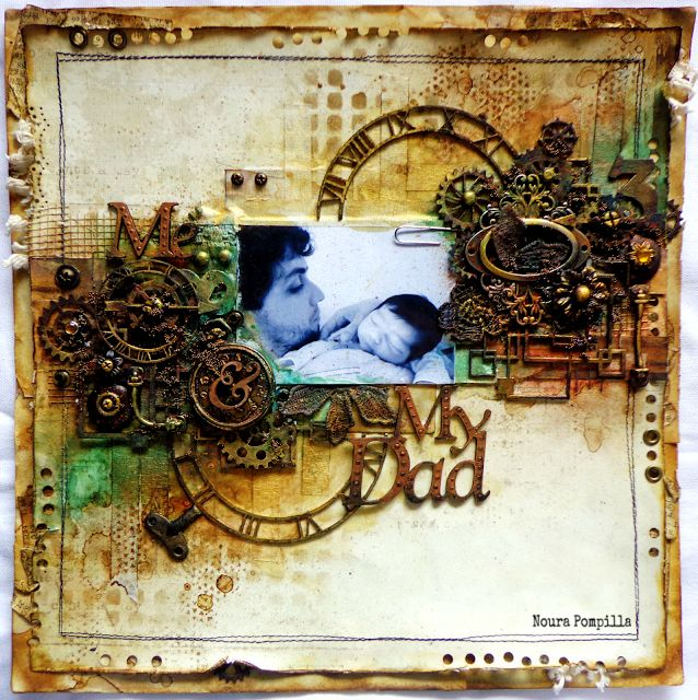 2 Crafty Chipboard : June Inspiration By Noura Pompilla