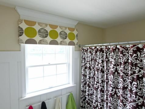 Bathroom Window Treatments for Privacy | Window Treatments - Ideas for Curtains, Blinds, Valances | HGTV