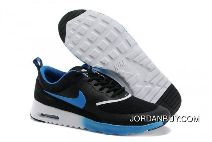 http://www.jordanbuy.com/nike-air-max-thea-mens-black-royal-blue.html NIKE AIR MAX THEA MENS BLACK ROYAL BLUE Only $85.00 , Free Shipping!