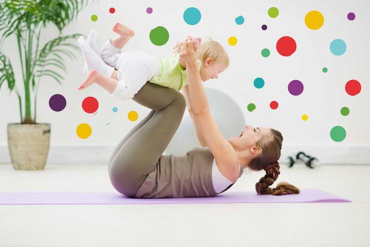Kinderzimmerdekoration - Exklusive Wandtattoo Kinderzimmer | Lustig Kreise - ein Designerstück von taia-s bei DaWanda