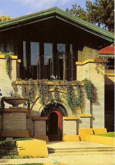 Dana Thomas House Springfield Illinois 1902 Frank Lloyd