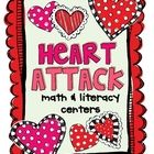 This+unit+includes+8+math+&+literacy+centers+that+can+be+used+during+the+month+of+February+to+reinforce+basic+first+grade+skills.    Math+Activitie...