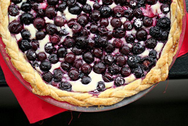 Blueberry Cream Cheese Pie Recipes — Dishmaps