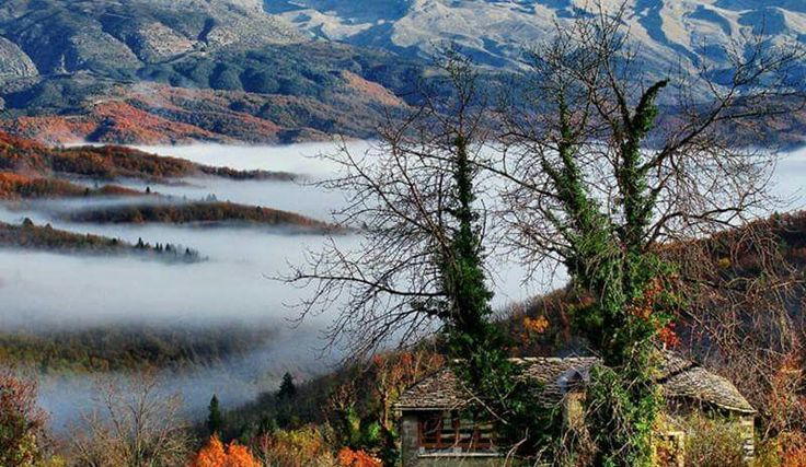 Visit Greece | Fall for Dilofo in Zagorochoria. #epirus #visitgreece
