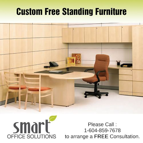 We have a wide selection of Free Standing Furniture and Casegoods from suppliers as broad as Haworth, Steelcase, Knoll, Absolute and Herman Miller. If you don't see what you want just ask, we can most likely get it!.
