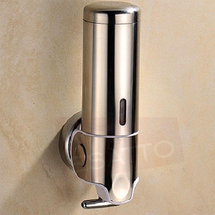 Estupendo despachador jabón dispensador de jabón líquidofabricado con materiales de primera calidad que le darán a tu baño un aspecto contemporáneo y sumamente refinado. Ideal para uso residencial o comercial.