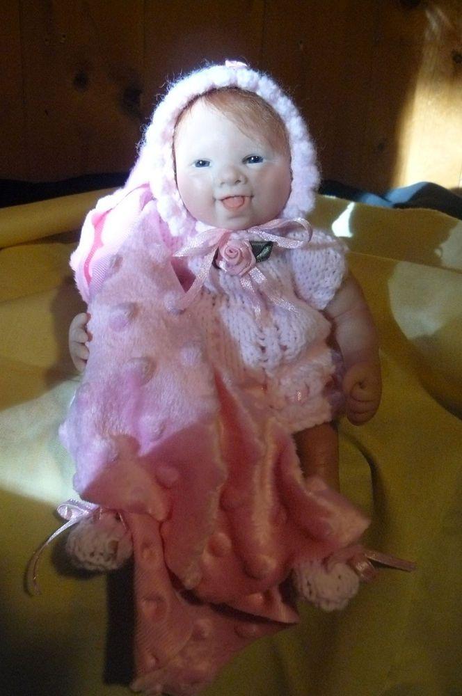 OOAK Original Artist Sculpt Polymer Clay Art Doll 8.5 inch  - Baby Victoria | eBay