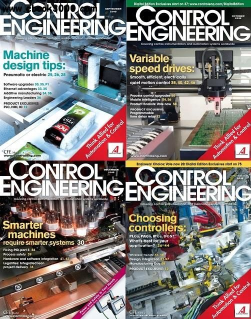 Control Engineering 2015 Full Year Collection - Free eBooks Download