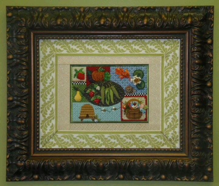 Needlepoint Sweet Pea Sampler by Kelly Clark--I am saving my money for this class!