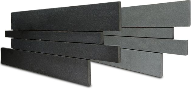 Norstone Basalt Interlocking Tiles for Modern Wall Designs, Backsplashes, Fireplaces, Feature Walls, and Retaining Walls