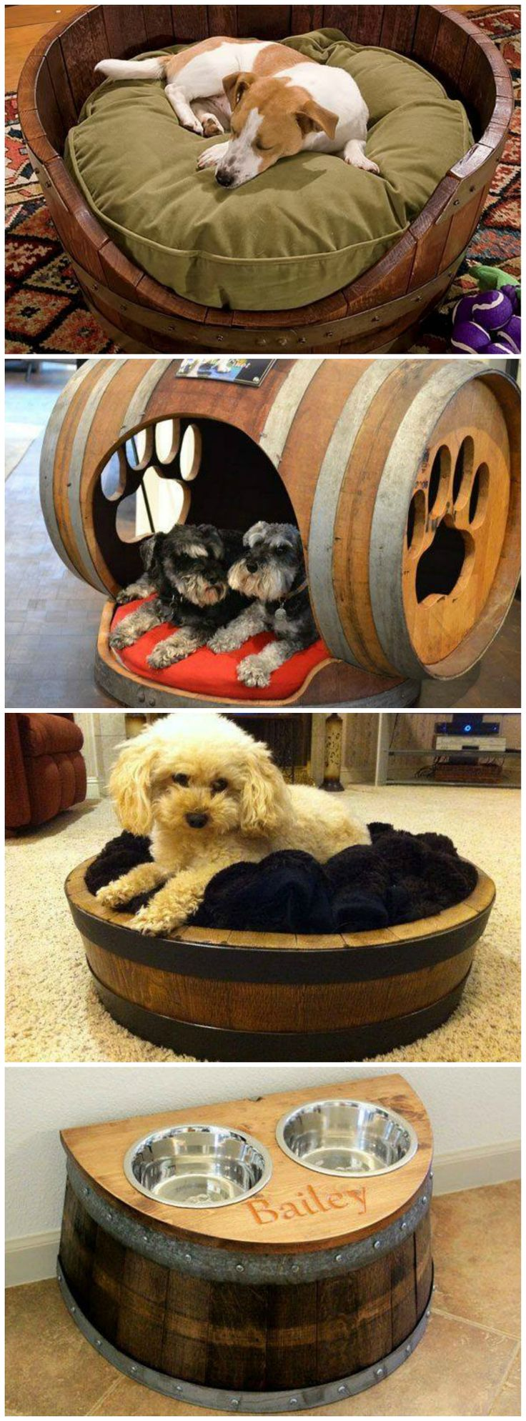 Mejores 28 imgenes de pet daycare en pinterest salones de wine barrel dog beds love the dog house rp by hammerschmid solutioingenieria Choice Image